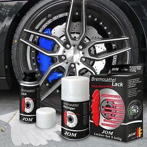 JOM Bremssattellack Bremssattel Lack Bremssattelfarbe Komplettset Farbe blau