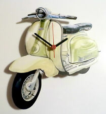 Scooter Wall Clock, Mod Scooter Clock, Vintage Scooter Wall Clock, Italian scoot