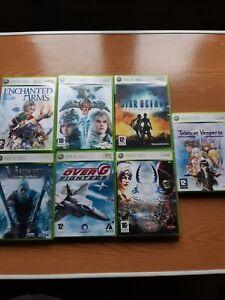 lot de 7 jeux XBOX 360