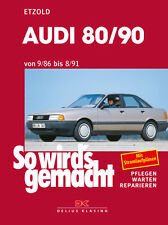 AUDI 80/90 1986-1991 B3 AVANT QUATTRO REPARATURANLEITUNG SO WIRDS GEMACHT 59
