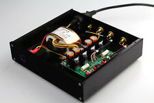 Finished RIAA MM Phono Turntable Preamplifier / Base On DUAL MM LP Amp   J3-62