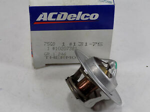NEW ACDelco # 131-75 Thermostat, GM #10207381 BUICK CADILLAC CHEVY