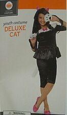 Girls Medium ( 6-8) * Deluxe Cat * Costume Nwt