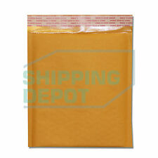 "125 #Dvd 7.5x10 Kraft Bubble Mailers Self Seal Envelopes 7.5""x10"" Secure Seal"
