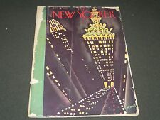 1929 OCTOBER 26 NEW YORKER MAGAZINE - BEAUTIFUL FRONT COVER FOR FRAMING - O 6189