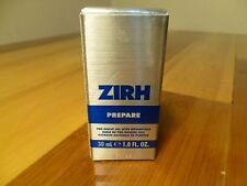 ZIRH  ,prepare  PRE-SHAVE OIL WITH BOTANICALS  POUR HOMME ,  30 ml   New IN BOX