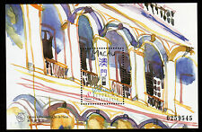 Macau Bl 47 Architektur Balkone 1997 ** Bl