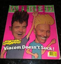 Vintage WIRED Magazine APRIL 1995 VIACOM Beavis & Butt-Head ELVIS Computer