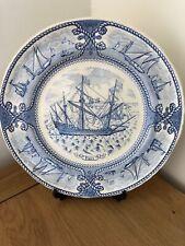 Mason's Vintage Ironstone Sailing Ships Commemorative Plate - Tiger