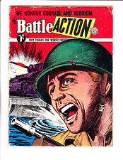 "Battle Action No 30 1950's -Australian- ""Yelling Soldier / Tank Cover! """