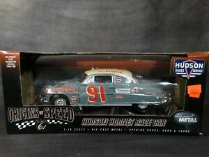 Highway 61 1952 Hudson Hornet Race Car Tim Flock #91 1:18 Scale Diecast  Model