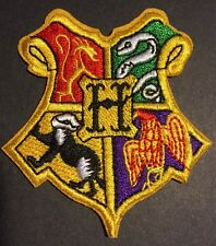 """High Quality Harry Potter Hogwarts Vest Embroidered Iron On Patch (2.5""""-3"""")"""