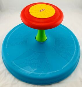 Playskool Sit N Spin Sit and Spin Blue Clean, in Great Cond FREE SHIP