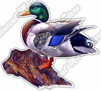 "Duck Hunting Duck Bird Mallard Hunt Hunter Car Bumper Vinyl Sticker Decal 4.6"""