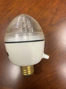 Egg Strobe Light With Variable Speed Adjustment Standard Socket