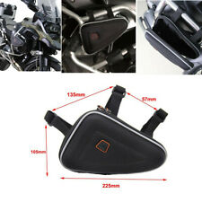 1pcs Outdoor Waterproof Motorcycle Saddle Bag Side Storage Pouch Case Black