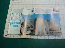 Vintage CLEAN brochure: ROTTERDAM HILTON the netherlands 1970