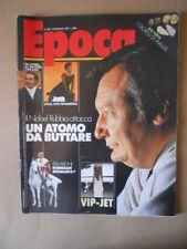 EPOCA n°1894 1987 Pietro Paolo Virdis Paul Simon Carlo Rubbia [VL11]