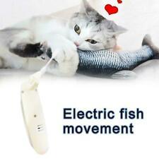 Wagging Cat Electric Fish movement Catnip Plush Simulation Toy Stuffed Fish M4K3