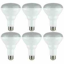 Sunbeam BR30 65W LED Indoor/Outdoor Dimmable Flood Lights 6 PACK, Energy Star