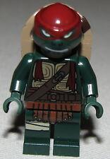 Lego New Teenage Mutant Ninja Turtles Raphael Minifigure from Set 79116 Fig