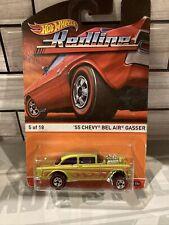 Hot Wheels Redline Series '55 Chevy Bel Air Gasser 5 Of 18 1/64 Scale (Htf)