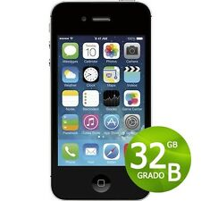 APPLE IPHONE 4S 32GB NEGRO+ACCESORIOS + GARANTÍA 12 MESES REACONDICIONADOS 4 S