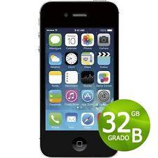 APPLE IPHONE 4S 32GB NERO + ACCESSORI + GARANZIA 12 MESI - RICONDIZIONATO 4 S