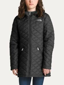 NEW The North Face Girls' Thermoball Parka - Vintage White - Large / 14-16US