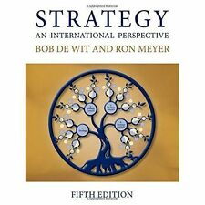 Strategy: An International Perspective, Good Condition Book, Meyer, Ron, De Wit,