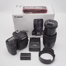 Canon EOS 80D Digital SLR Camera with 18-135mm EF-S f/3.5-5.6 IS USM Lens, USA