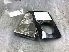 new black front faceplate metal back housing case cover for ipod 5th video 60gb