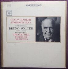 BRUNO WALTER - MAHLER - symphony no.9 - COLUMBIA - M2S 676 - 2 NM LPs
