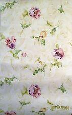 Pretty Flowers Vinyl Coated Wallpaper