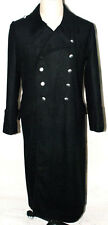 WWII GERMAN ELITE M32 BLACK WOOL GREATCOAT COAT XL-31735