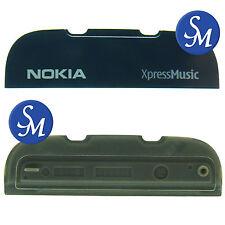 0250697 Logo nero di decoro Nokia per Nokia 5300 XpressMusic originale