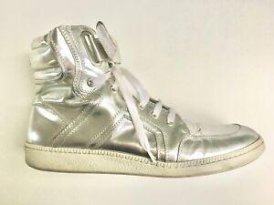 Michalsky High Top Sneaker Schuhe silber/silver Größe 43 - top gepflegt