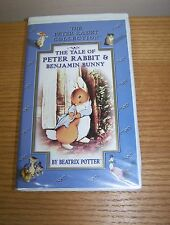 The Tale of Peter Rabbit and Benjamin Bunny VHS, 2002 Clam Shell Tape