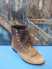 Ariat 10184 Womens Ankle lace up Western Cowboy Boots sz 6 M Brown