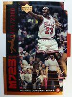 1999 99 MJ23 Upper Deck UD Michael Jordan Quantum Die Cut QMM22 #'d /2300 Bulls