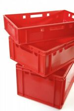 Produce Crate Red Stacking Stackable Box Storage Transport Gemüsekisten