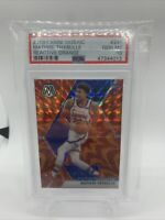 2019 Panini Mosaic Matisse Thybulle 'Reactive Orange' Rookie RC PSA 10 76ers
