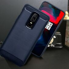 Low Profile Carbon Fiber Blue  Case ONE PLUS SIX