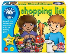 Orchard Toys Shopping List Game Matching Memory Primary Educational Leaning Fun