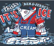 Phish Ben & Jerrys - Jim Pollock Artwork Size M Its Ice.(Cream) Phish Food