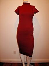 ZARA WOMAN W/B COLLECTION  SHORT SLEEVE BODY CON  RED DRESS  SIZE M