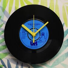 """10cc """"The Wall Street Shuffle"""" Retro Chic 7"""" Vinyl Record Wall Clock"""