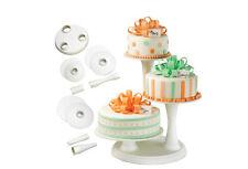 307-350 3 Tier Pillar Cake Stand WHT Wilton 307350