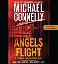 Michael Connelly ANGELS FLIGHT Unabridged CD *NEW* FAST Ship in a BOX !