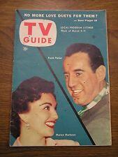 TV GUIDE MAGAZINE-MAR 5-11,1954-FRANK PARKER-MARION MARLOWE--Minnesota MSP SP